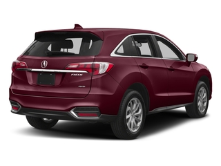 Basque Red Pearl II 2017 Acura RDX Pictures RDX AWD w/Technology/AcuraWatch Plus Pkg photos rear view