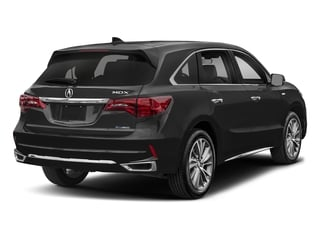 Crystal Black Pearl 2017 Acura MDX Pictures MDX Utility 4D Technology AWD Hybrid photos rear view