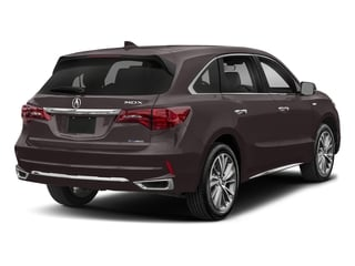 Black Copper Pearl 2017 Acura MDX Pictures MDX SH-AWD Sport Hybrid w/Technology Pkg photos rear view