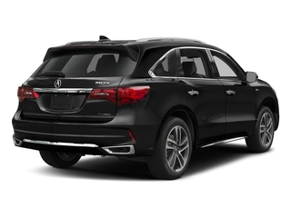 Crystal Black Pearl 2017 Acura MDX Pictures MDX Utility 4D Advance AWD Hybrid photos rear view