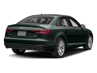 Gotland Green Metallic 2017 Audi A4 Pictures A4 Sedan 4D 2.0T Premium AWD photos rear view