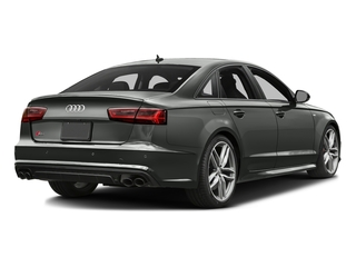 Daytona Gray Pearl Effect 2017 Audi S6 Pictures S6 4.0 TFSI Prestige photos rear view