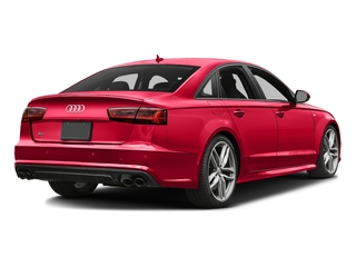 Misano Red Pearl Effect 2017 Audi S6 Pictures S6 4.0 TFSI Prestige photos rear view