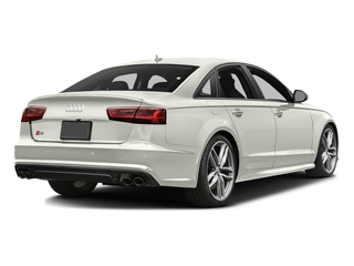 Ibis White 2017 Audi S6 Pictures S6 4.0 TFSI Prestige photos rear view