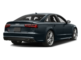 Moonlight Blue Metallic 2017 Audi S6 Pictures S6 4.0 TFSI Prestige photos rear view