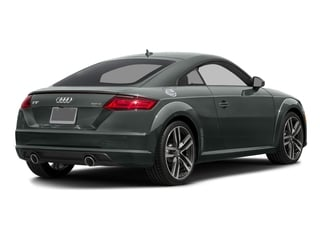 Monsoon Gray Metallic 2017 Audi TT Coupe Pictures TT Coupe 2D AWD photos rear view