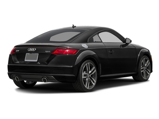 Brilliant Black 2017 Audi TT Coupe Pictures TT Coupe 2D AWD photos rear view