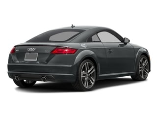 Nano Gray Metallic 2017 Audi TT Coupe Pictures TT Coupe 2D AWD photos rear view