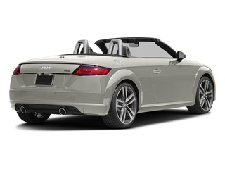 Ibis White/Black Roof 2017 Audi TT Roadster Pictures TT Roadster 2.0 TFSI photos rear view