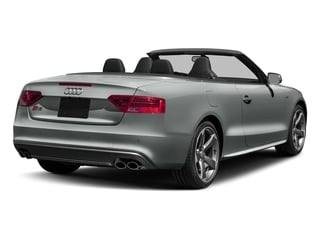 Monsoon Gray Metallic/Black Roof 2017 Audi S5 Cabriolet Pictures S5 Cabriolet Convertible 2D S5 Premium Plus AWD photos rear view