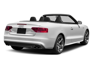 Glacier White Metallic/Black Roof 2017 Audi S5 Cabriolet Pictures S5 Cabriolet Convertible 2D S5 Premium Plus AWD photos rear view