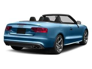Sepang Blue Pearl Effect/Black Roof 2017 Audi S5 Cabriolet Pictures S5 Cabriolet Convertible 2D S5 Premium Plus AWD photos rear view