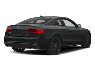 Mythos Black Metallic 2017 Audi S5 Coupe Pictures S5 Coupe 3.0 TFSI S Tronic photos rear view