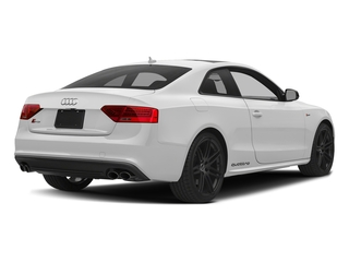 Glacier White Metallic 2017 Audi S5 Coupe Pictures S5 Coupe 3.0 TFSI S Tronic photos rear view
