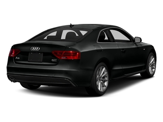 Mythos Black Metallic 2017 Audi A5 Coupe Pictures A5 Coupe 2.0 TFSI Sport Manual photos rear view
