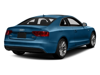 Sepang Blue Pearl Effect 2017 Audi A5 Coupe Pictures A5 Coupe 2.0 TFSI Sport Manual photos rear view