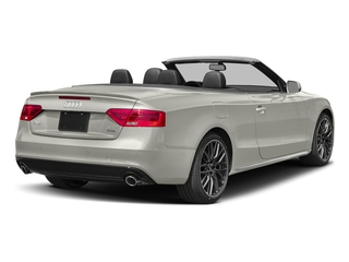 Ibis White/Black Roof 2017 Audi A5 Cabriolet Pictures A5 Cabriolet Convertible 2D Sport AWD photos rear view