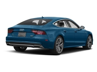 Sepang Blue Pearl Effect 2017 Audi A7 Pictures A7 3.0 TFSI Competition Prestige photos rear view