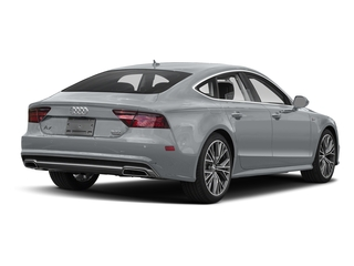 Tornado Gray Metallic 2017 Audi A7 Pictures A7 Sedan 4D Competition Prestige AWD photos rear view