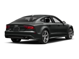 Mythos Black Metallic 2017 Audi S7 Pictures S7 Sedan 4D S7 Prestige AWD photos rear view
