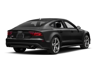 Brilliant Black 2017 Audi S7 Pictures S7 Sedan 4D S7 Prestige AWD photos rear view