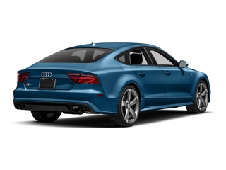 Sepang Blue Pearl Effect 2017 Audi S7 Pictures S7 Sedan 4D S7 Prestige AWD photos rear view
