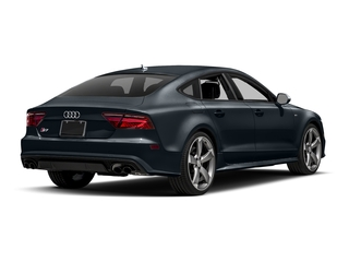 Moonlight Blue Metallic 2017 Audi S7 Pictures S7 Sedan 4D S7 Prestige AWD photos rear view