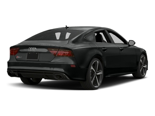 Mythos Black Metallic 2017 Audi RS 7 Pictures RS 7 Sedan 4D RS7 Performance AWD photos rear view