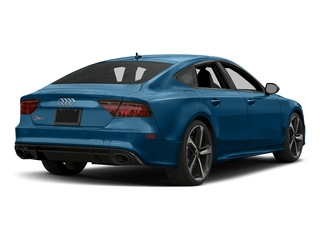 Sepang Blue Pearl Effect 2017 Audi RS 7 Pictures RS 7 Sedan 4D RS7 Performance AWD photos rear view