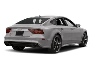 Florett Silver Metallic 2017 Audi RS 7 Pictures RS 7 Sedan 4D RS7 Performance AWD photos rear view