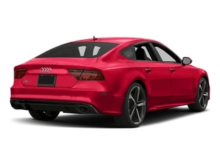 Misano Red Pearl Effect 2017 Audi RS 7 Pictures RS 7 Sedan 4D RS7 Performance AWD photos rear view
