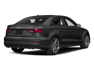 Mythos Black Metallic 2017 Audi S3 Pictures S3 Sedan 4D S3 Premium Plus AWD I4 Turb photos rear view
