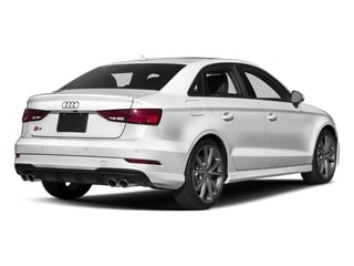 Glacier White Metallic 2017 Audi S3 Pictures S3 Sedan 4D S3 Premium Plus AWD I4 Turb photos rear view