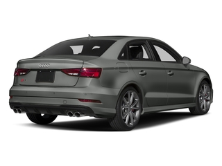 Daytona Gray Pearl Effect 2017 Audi S3 Pictures S3 Sedan 4D S3 Premium Plus AWD I4 Turb photos rear view