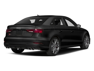 Brilliant Black 2017 Audi S3 Pictures S3 Sedan 4D S3 Prestige AWD I4 Turbo photos rear view