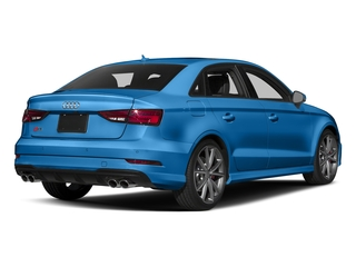 Ara Blue Crystal Effect 2017 Audi S3 Pictures S3 Sedan 4D S3 Prestige AWD I4 Turbo photos rear view