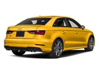 Vegas Yellow 2017 Audi S3 Pictures S3 Sedan 4D S3 Premium Plus AWD I4 Turb photos rear view