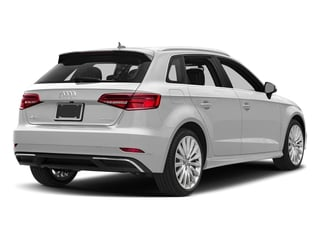 Glacier White Metallic 2017 Audi A3 Sportback e-tron Pictures A3 Sportback e-tron Hatchback 5D E-tron Premium Plus photos rear view