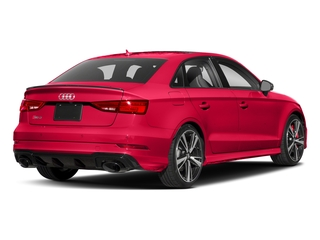 Catalunya Red Metallic 2017 Audi RS 3 Pictures RS 3 Sedan 4D RS3 AWD photos rear view