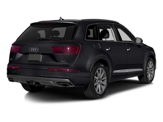 Orca Black Metallic 2017 Audi Q7 Pictures Q7 2.0 TFSI Premium photos rear view