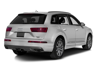 Glacier White Metallic 2017 Audi Q7 Pictures Q7 2.0 TFSI Premium photos rear view