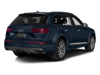 Ink Blue Metallic 2017 Audi Q7 Pictures Q7 2.0 TFSI Premium photos rear view