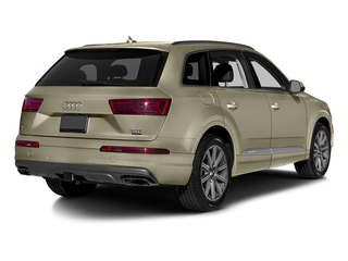 Carat Beige Metallic 2017 Audi Q7 Pictures Q7 2.0 TFSI Premium photos rear view