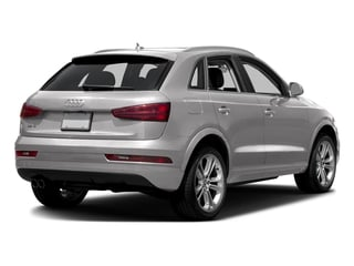 Cuvee Silver Metallic 2017 Audi Q3 Pictures Q3 2.0 TFSI Premium quattro AWD photos rear view