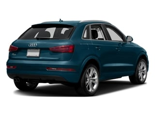 Utopia Blue Metallic 2017 Audi Q3 Pictures Q3 2.0 TFSI Premium quattro AWD photos rear view