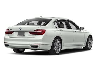 Alpine White 2017 BMW 7 Series Pictures 7 Series Sedan 4D 750xi AWD Turbo photos rear view