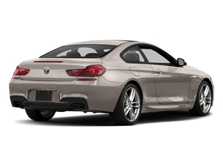 Cashmere Silver Metallic 2017 BMW 6 Series Pictures 6 Series Coupe 2D 650i V8 photos rear view