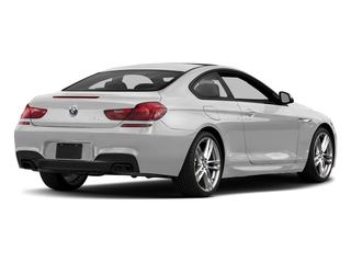 Mineral White Metallic 2017 BMW 6 Series Pictures 6 Series Coupe 2D 650i V8 photos rear view