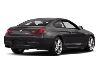 Ruby Black Metallic 2017 BMW 6 Series Pictures 6 Series Coupe 2D 650i V8 photos rear view