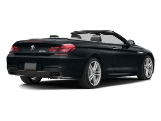 Carbon Black Metallic 2017 BMW 6 Series Pictures 6 Series Convertible 2D 650i V8 photos rear view